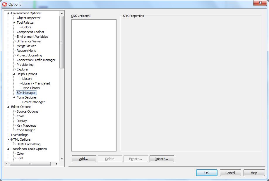 Delphi XE5: первое приложение для Android  — Delphi в Internet